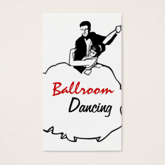 Dance Instructor Studio Lessons Business Card