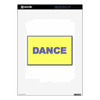 Dance iPad 2 Decals