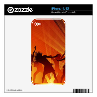 Dance IPhone Skin Skins For The iPhone 4S