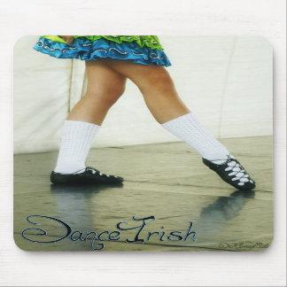 Dance Irish Blue Mousepad