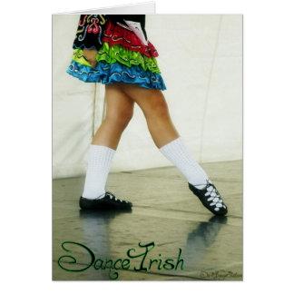 Dance Irish Green Card