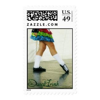 Dance Irish Green Postage