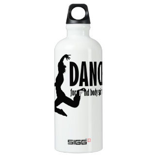 Dance is for MIND BODY and SPIRIT SIGG Traveler 0.6L Water Bottle