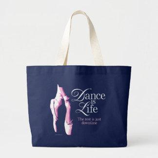 Dance Is Life Jumbo Tote Bag
