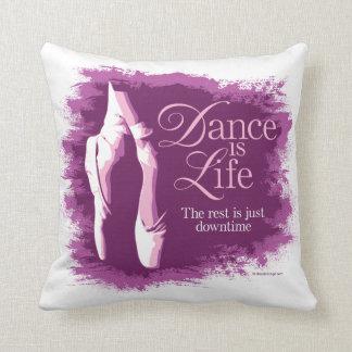 Dance Is Life Throw Pillows