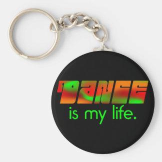 Dance is My Life Keychain