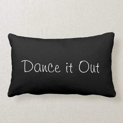 Throw Out Pillows Bed Bugs : Dance it Out Throw Pillow Zazzle