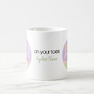 Dance - Jete - Ballet recital Classic White Coffee Mug