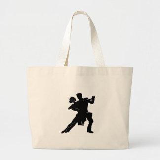 Dance Large Tote Bag