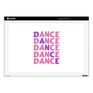 Dance Lettering Laptop Skins