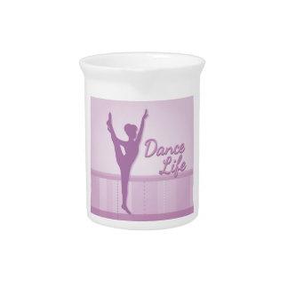 Dance Life Ballerina - Purple - Beverage Pitcher