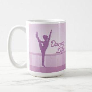 Dance Life Ballerina - Purple - Coffee Mug