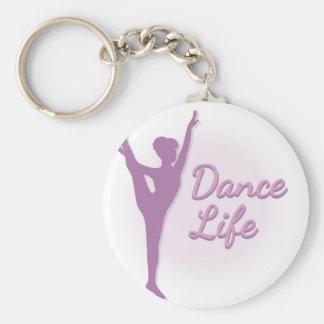 Dance Life Ballerina - Purple - Keychain