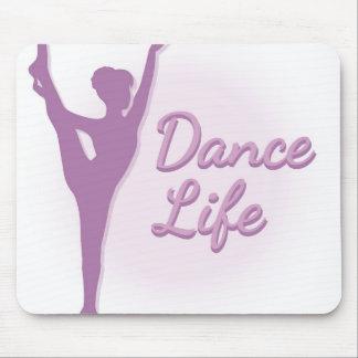 Dance Life Ballerina - Purple - Mouse Pads
