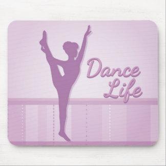 Dance Life Ballerina - Purple - Mousepads