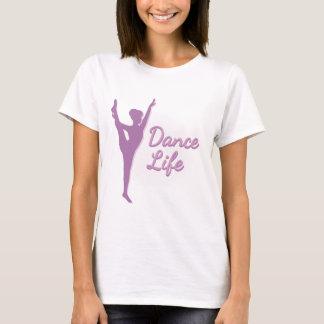 Dance Life Ballerina - Purple - T-Shirt