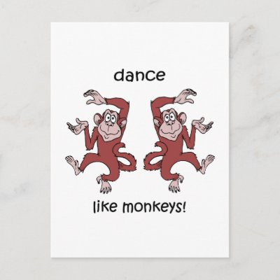 funny dance. Cute and funny dance like a