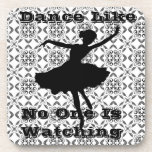 """""""Dance Like No One Is Watching"""" Cork Coaster Drink Coasters"""