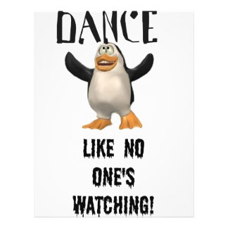 Dance...Like No One's Watching! Letterhead