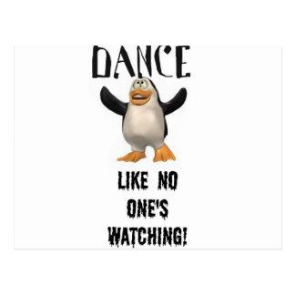 Dance...Like No One's Watching! Postcard