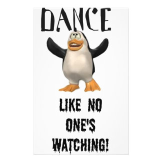 Dance...Like No One's Watching! Stationery