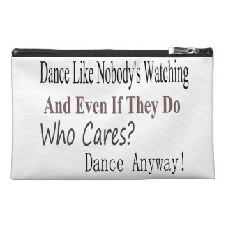 Dance Like Nobody's Watching Travel Accessories Bags