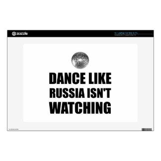 """Dance Like Russia Not Watching 13"""" Laptop Skin"""