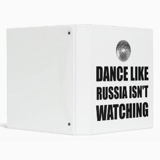 Dance Like Russia Not Watching Binder