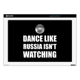 Dance Like Russia Not Watching Decal For Laptop
