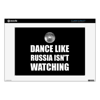"""Dance Like Russia Not Watching Decals For 13"""" Laptops"""