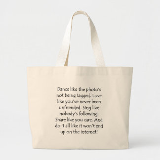 Dance Love Sing Share Canvas Bag