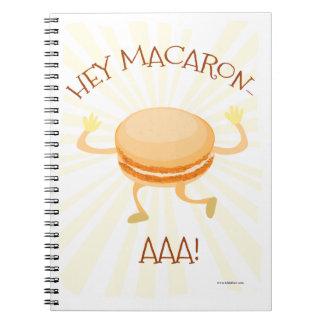 Dance Macaron AAA Notebook