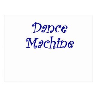 Dance Machine Postcard