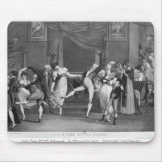 Dance mania, 1809 mouse pad