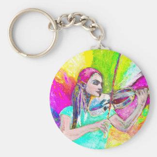 Dance me basic round button keychain