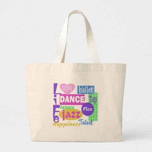 Dance Mix Jumbo Tote Bag