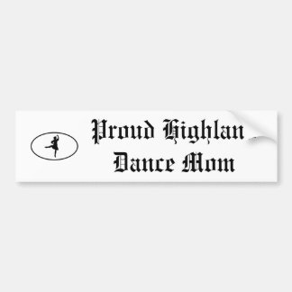 dance mom bumper sticker