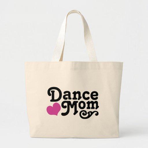Dance Mom Large Tote Bag
