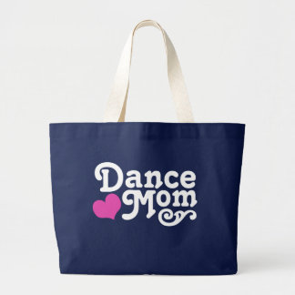 Dance Mom Large Tote Bag