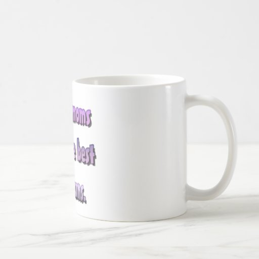Dance moms have the best hair buns. classic white coffee mug
