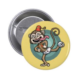 Dance, Monkey! Pinback Button