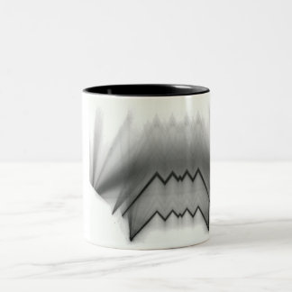 Dance mosquito Two-Tone coffee mug