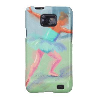 Dance Movement in Blue Samsung Galaxy S2 Case