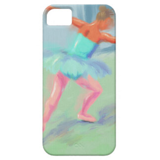 Dance Movement in Blue iPhone SE/5/5s Case