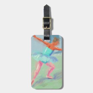 Dance Movement in Blue Tag For Bags