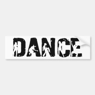 DANCE! Movers and Shakers Car Bumper Sticker
