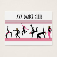Dance Moves  Business Card at Zazzle
