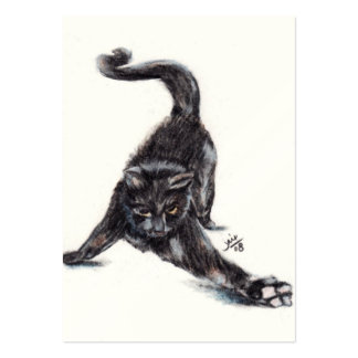 Dance Moves (Cat) ACEO Art Trading Cards Business Card Templates