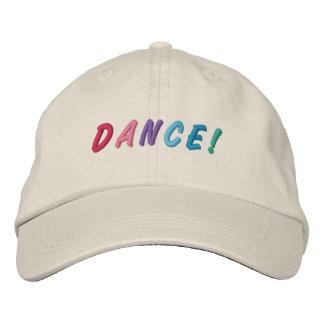 Dance Multicolored Embroidered Cap 2