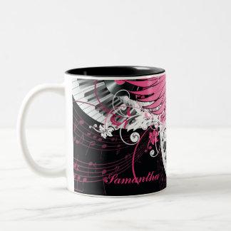 Dance Music Disco Ball Glass Coffee Mug Cup